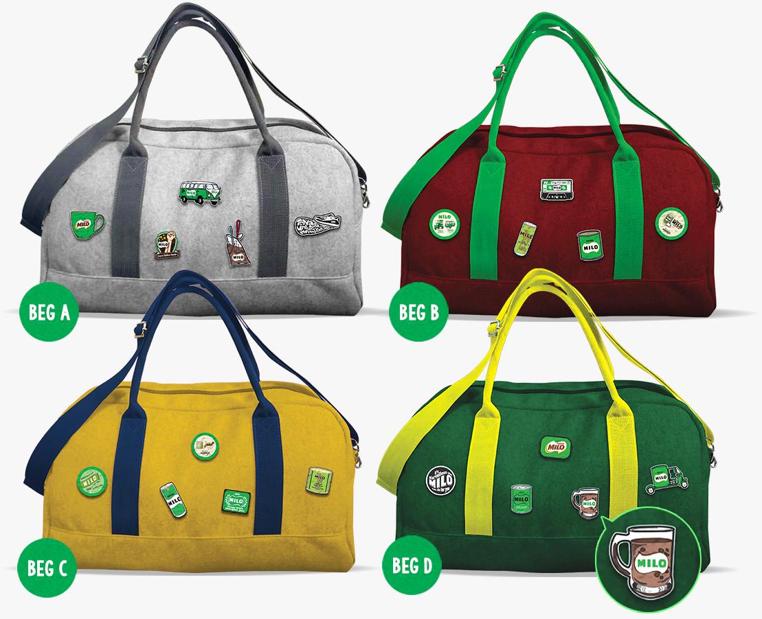 Stick Pek X Change Bags