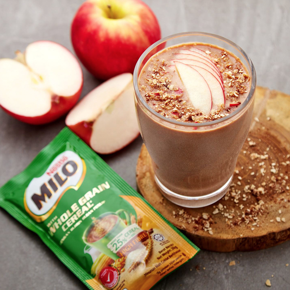 MILO® Apple Cereal Smoothie