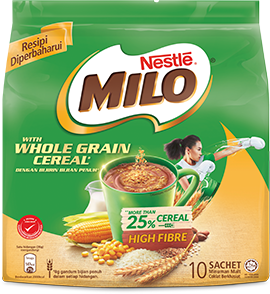 MILO® WITH WHOLE GRAIN CEREAL