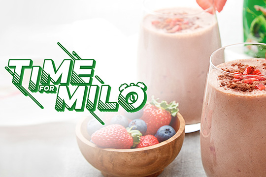 Try these exciting MILO® recipes today!